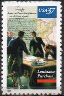 USA 2003 37¢ Louisiana Purchase Bicentenary - Unused Stamps