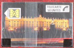 Télécarte F40, 11/88, Nancy, 50 Unités, 10 000 Ex.  Puce SC4 - Frankrijk