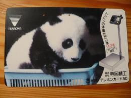 Phonecard Japan 110-011 Panda - Japon