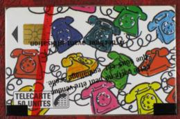 Télécarte F10, 09/87, Naifs Les Téléphones, 50 Unités, 7 000 Ex.  Puce S02 - 1987