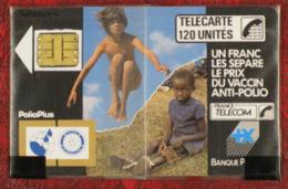 Télécarte F28, 1988, Polio Plus, 120 Unités, 15 000 Ex.  Puce SC3 - Frankrijk