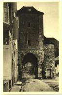 LOT 3 CPA DE ROCAMADOUR  (LOT)  LA PORTE SALMON. LA GRANDE CROIX DE JERUSALEM. LE PARVIS - Rocamadour