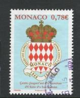 Monaco, Yv 3140 Jaar 2018, Gestempeld - Used Stamps