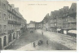 LANNION - PLACE DU CENTRE  ( Animées ) - Lannion