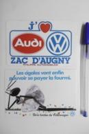 Autocollant Stickers Automobiles VOLKSWAGEN AUDI ZAC D'AUGNY / Cigales Fourmis - Lot De 2 Autocollants - Stickers