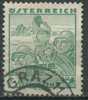 Österreich 1934 Österreichische Volkstrachten 585 Gestempelt - Usados