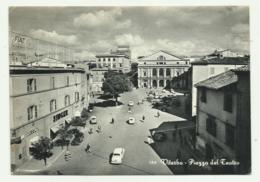 VITERBO - PIAZZA DEL TEATRO    VIAGGIATA  FG - Viterbo
