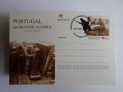 POSTAL STATIONERY 1916 PORTUGAL WORLD WAR I WWI PORTUGUESE ARMY FLANDRES Z1 - Portugal
