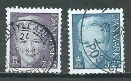 Danemark YT N°1449/1450 Reine Margrethe II Oblitéré ° - Dänemark
