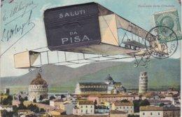 """PISE. Carte à Systèmes """"Saluti Da Pisa"""" - Pisa"""