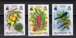 Montserrat / 1985 / Emblèmes Nationaux / Série Complète ** / Yvert 562-564 - Montserrat