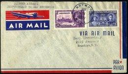 KANADA - NEUFUNDLAND 28.6.1939, PAA-Erstflug BOTWOOD-SHEDIAC Mit Yankee-Clipper Geflogen, Pracht, Müller 34 - 1857-1861