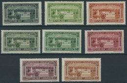 LIBANON 220-27 **, 1937, Weltausstellung, Postfrischer Prachtsatz - Libanon