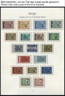 EUROPA UNION **, 1965-68, Zwerg Mit Frucht, Stilisiertes Boot, Zahnräder Und Kreuzbartschlüssel, 4 Komplette Jahrgänge,  - Sammlungen