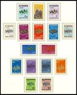 EUROPA UNION **, 1972, Sterne, Kompletter Jahrgang, Pracht, Mi. 178.- - Sammlungen