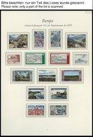 EUROPA UNION **, 1977, Landschaften, Kompletter Jahrgang, Pracht, Mi. 143.80 - Sammlungen