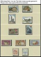 EUROPA UNION **, 1978/9, Baudenkmäler Und Post- Und Fernmeldewesen, 2 Komplette Jahrgänge, Prachterhaltung, Mi. 268.50 - Sammlungen