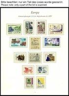 EUROPA UNION **, 1979, Post- Und Fernmeldewesen, Kompletter Jahrgang, Pracht, Mi. 112.- - Sammlungen