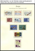 EUROPA UNION **, 1982, Historische Ereignisse, Kompletter Jahrgang, Pracht, Mi. 125.40 - Sammlungen