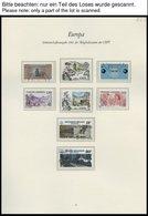 EUROPA UNION O, 1983, Werke Des Menschlichen Geistes, Kompletter Jahrgang, Pracht, Mi. 112.50 - Sammlungen