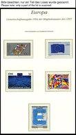 EUROPA UNION **, 1994, Entdeckungen Und Erfindungen, Kompletter Jahrgang Ohne Bosnien Und Herzegowina, Mit Kleinbogen Sl - Sammlungen