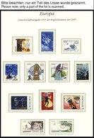 EUROPA UNION **, 1997, Sagen Und Legenden, Kompletter Jahrgang Ohne Armenien, Bosnien Und Herzegowina Und Ukraine Bl. 7, - Sammlungen