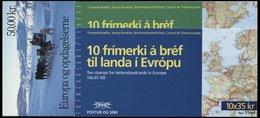 EUROPA UNION MH O, 1994, Entdeckungen Und Erfindungen, 3 Verschiedene Markenheftchen, Pracht, Mi. (60.-) - Sammlungen