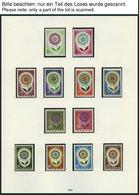 EUROPA UNION **, Postfrische Sammlung Gemeinschaftsausgaben Von 1958-68 Im SAFE Falzlosalbum (Text Ab 1956), Bis Auf Wen - Sammlungen