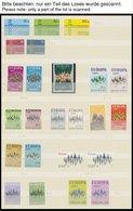 EUROPA UNION **, Wohl Komplette Postfrische Sammlung Gemeinschaftsausgaben Von 1968-75, Dazu Etwas Europarat, Skandinavi - Sammlungen