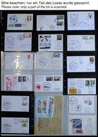 ANTARKTIS 1960-93, Interessante Sammlung Von 185 Verschiedenen Belegen Internationaler Antarktis Expeditionen, Prachtsam - Briefmarken