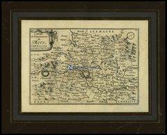 Metz, Plan Mit Umgebungskarte, Kupferstich Von Beaulieu Um 1660 - Mappe