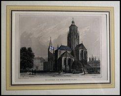 WEISSENBURG: Die Kirche, Stahlstich Von Rohbock/Richter Um 1880 - Lithographies