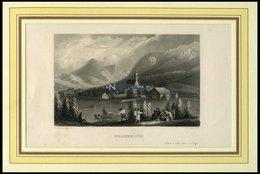 GROEBNING, Gesamtansicht, Stahlstich Von Mayer/Payne Um 1840 - Lithographies