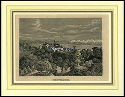 NEUCHATEL, Gesamtansicht, Lithografie Um 1840 - Lithographies