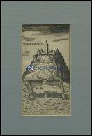 NOVIGRAD: Die Festung, Kupferstich Um 1685 - Lithographies