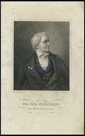 Fr. Chr. Schlosser, Stahlstich Von B.I. Um 1840 - Lithographies