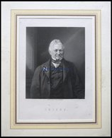 Thiers, Stahlstich Von Holl Um 1880 - Lithographies