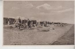 Nordseebad DÖSE B. CUXHAVEN - Strand Mit Karrenbädern  1935 - Cuxhaven