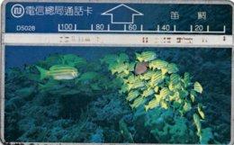 *TAIWAN* - Scheda Usata - Pesci