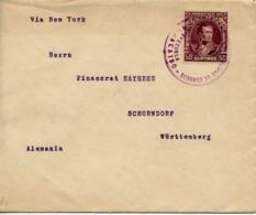 MARACAIBO / VENEZUELA - 1906 , Brief Nach Schondorf - Venezuela