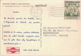 CROISIERE - PLASMARINE 1955 - IONYL - CHRISTOPHE COLOMB AUX INDES OCCIDENTAL - REPUBLIQUE DOMINICAINE - Dominicaine (République)