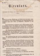 AUSTRIA  --  KLAGENFURT  --  CIRKULARE  --  1850   --  OLD DOCUMENT - Historische Dokumente