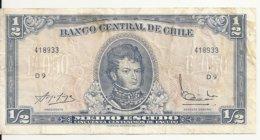 CHILI 1/2 ESCUDO ND VF P 134A - Chili