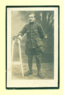 WO1 / WW1 - Doodsprentje Emilius Scholiers - Itterbeek / Guempes (FR) - Gesneuvelde - Obituary Notices