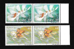 1997 Irlanda ÉIRE Ireland EUROPA CEPT EUROPE 2 Serie Di 2v. In Coppia MNH** - Europa-CEPT