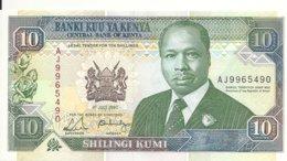 KENYA 10 SHILLINGS 1990 UNC P 24 B - Kenia