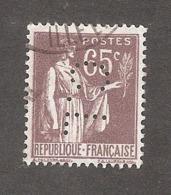 Perforé/perfin/lochung France No 284 C.L Crédit Lyonnais (227) - Perforés
