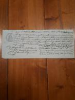 1868 - FORLI' - CAMBIALE - PROMISSORY - LIRE 617 D'ARGENTO - Cambiali