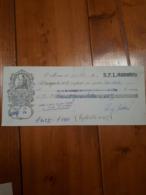 1927 REPUBBLICA SAN MARINO - CAMBIALE PROMISSORY 242,55 LIRE - Cambiali