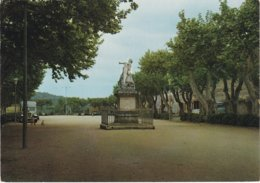 BARJOLS. La Place De La Rouguière - Barjols